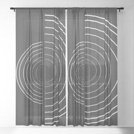 simplicity #minimal #decor #buyart Sheer Curtain