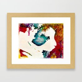 """""""The Lion The Beast The Beat""""  Calico Cat Framed Art Print"""