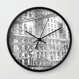 Sao Paulo - Art Wall Clock