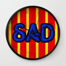 Sad Wall Clock