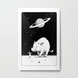 Edge of the universe: Warthog Metal Print