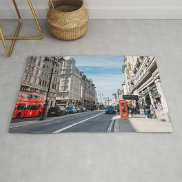 The Strand in London Rug