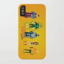 Justice League of America - Pixel Nostalgia iPhone Case
