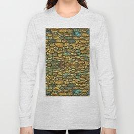 Natural Rock Wall Art Design Long Sleeve T-shirt