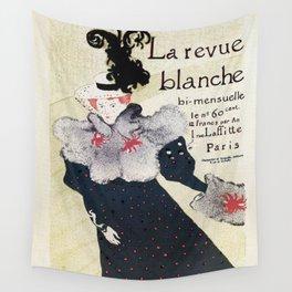 La Revue Blanche Toulouse Lautrec Wall Tapestry