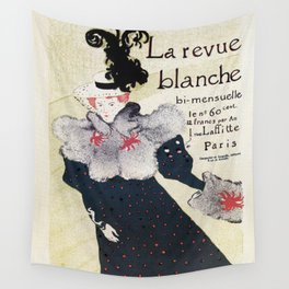 La Revue Blanche Toulouse Lautrec Wall Tapestry