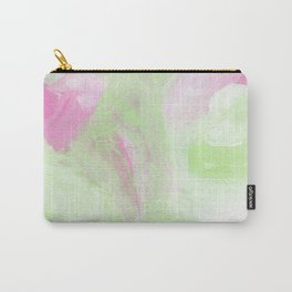 Fuschia Lemon Abstract Carry-All Pouch