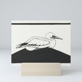Northern gannet (Jan-van-gent) (1930) print in high resolution by Samuel Jessurun de Mesquita Mini Art Print