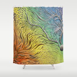 Rainbow Vision Shower Curtain