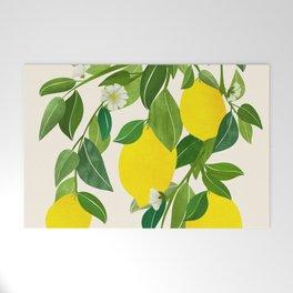 Summer Lemons / Tropical Fruit Series Welcome Mat
