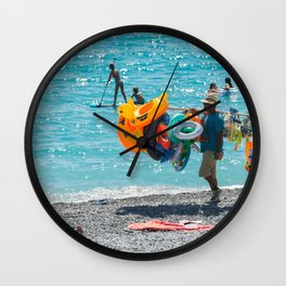 Summer Colours Wall Clock