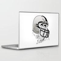 nfl Laptop & iPad Skins featuring American Football Gorilla by raeuberstochter