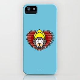 Indian Monkey God Icon iPhone Case