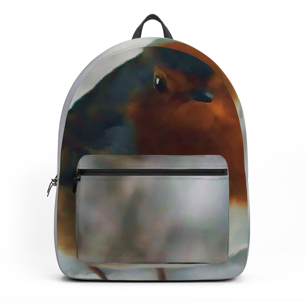 Robin Redbreast Backpack by valzart (BKP3880308) photo