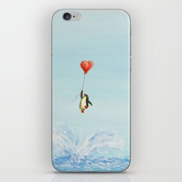 breakthrough penguin iPhone Skin