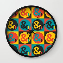 OK IV Wall Clock
