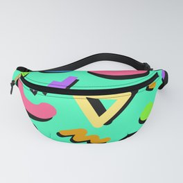 Teal Time Fanny Pack