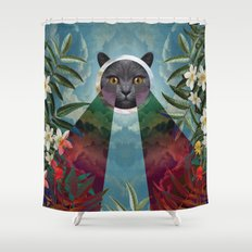 Chartreux Shower Curtain