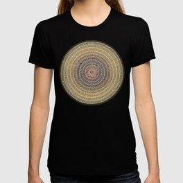 Aligning on Black Background T-shirt