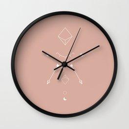 Night Totem Wall Clock