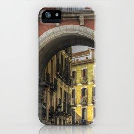 Ancient Madrid #4 iPhone Case