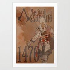 Birth of an Assassin Art Print