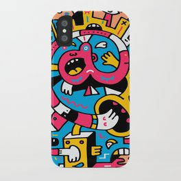 At The Third Stroke iPhone Case