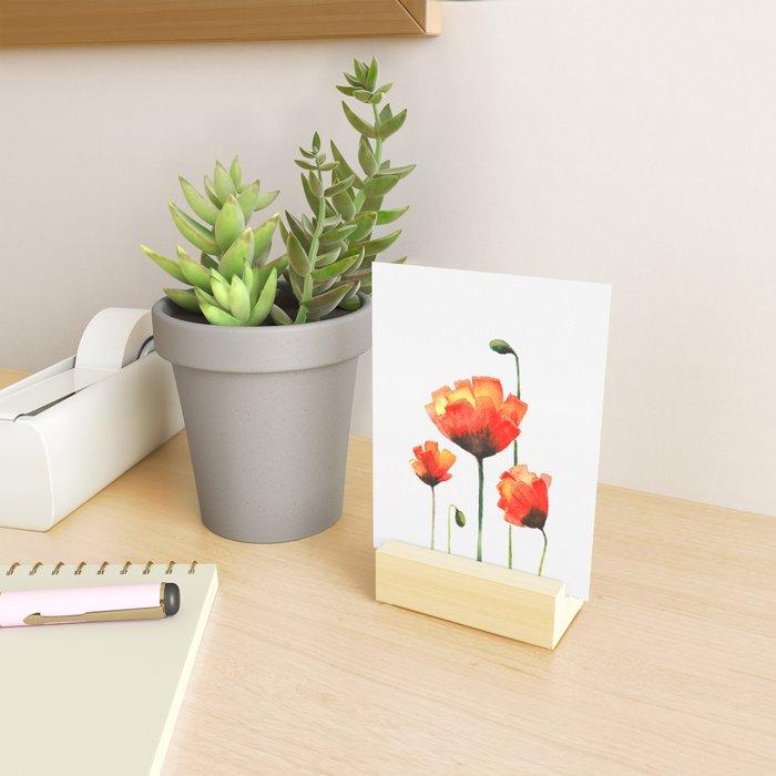 Poppy Love Mini Art Print