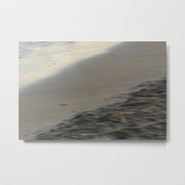 Beach section - abstract seascape Metal Print