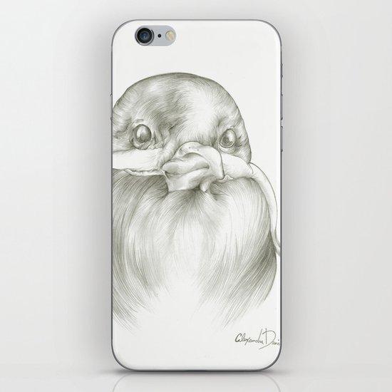 Mustache Bird  iPhone & iPod Skin