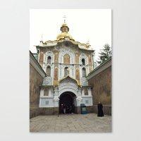ukraine Canvas Prints featuring Kiev, Ukraine by Love Crosses Oceans Smith Family