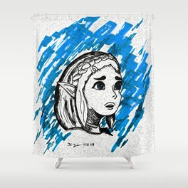 Triforce of Wisdom: Zelda Shower Curtain