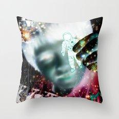 star man Throw Pillow