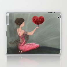 RED LOVE Laptop & iPad Skin