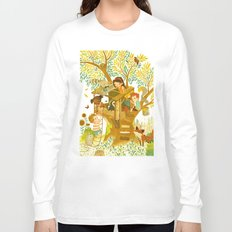 Our House In the Woods Long Sleeve T-shirt