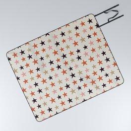 Star Pattern Color Picnic Blanket