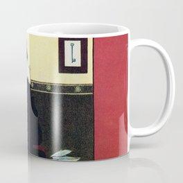 The New Woman, vintage Comedy Theatre london advert Coffee Mug