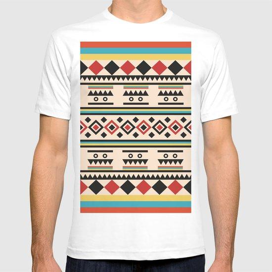 TRIBAL PATTERN T-shirt