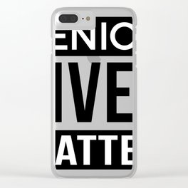 Seniors Design, Retirement Gift For Old People Clear iPhone Case