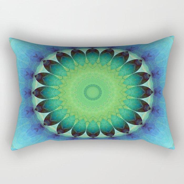 Mandala care Rectangular Pillow