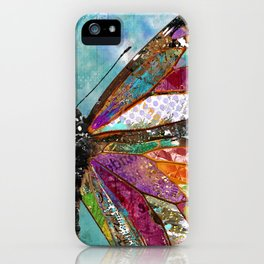 Woodland Butterfly iPhone Case