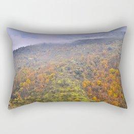 Rainy days. Fall colors Rectangular Pillow