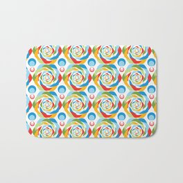 Rose Abstraction Bath Mat