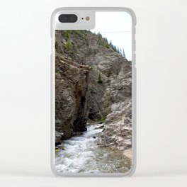 Hidden Propect Hole at the Sunnyside Mill at Eureka Clear iPhone Case