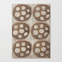 honeycomb Canvas Prints featuring Honeycomb by Finn Wild