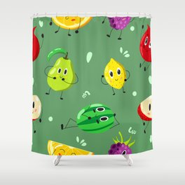 fruits pattern Shower Curtain