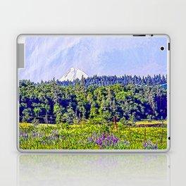 Hood River Oregon - Spring Time In The Hood Laptop & iPad Skin