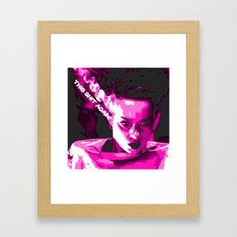 This shit again? Framed Art Print
