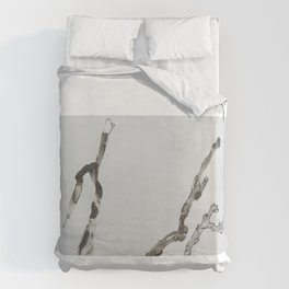 DETERIORATION OF A TWIG Duvet Cover
