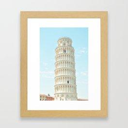 Postcards from Italy: Pisa Framed Art Print